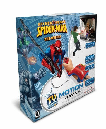 Plug It In And Play, No Console Or Additional Software Needed - Spiderman Motion Video Game
