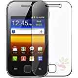 Everydaysource -2 Pack Valued Combo - For Samsung Galaxy Y S5360 Reusable Screen Protector