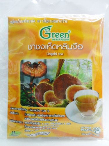 Dr.Green : Lingzhi Elixir Herbal Tea 15G (15 Teabags) Product Of Thailand