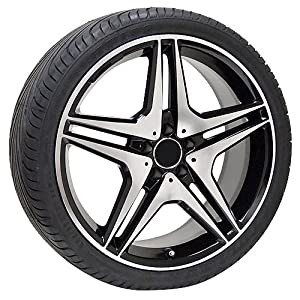 20 inch black Mercedes Benz wheels rims & tires