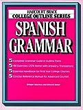 img - for College Outline: Spanish Grammar (Harcourt Brace Jovanovich College Outline Series) by Bridget Aldaraca (1986-08-07) book / textbook / text book