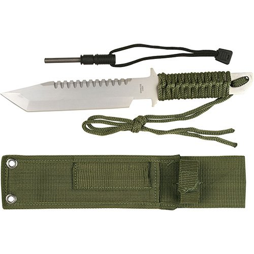 Military Tanto Knife Fixed Blade