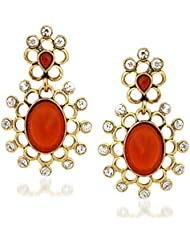 VK Jewels Sweet Alloy Drop Earring Set For Women & Girls -ERZ1221G [VKERZ1221G]