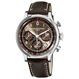 Baume & Mercier Men's 10002 Capeland Mens Automatic Chronograph Watch from Baume & Mercier