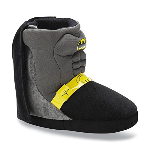 Dc Comics Batman Boots Slippers Toddler Boy Size 9/10 front-367245