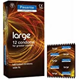 Pasante Lot de 24 préservatifs Large