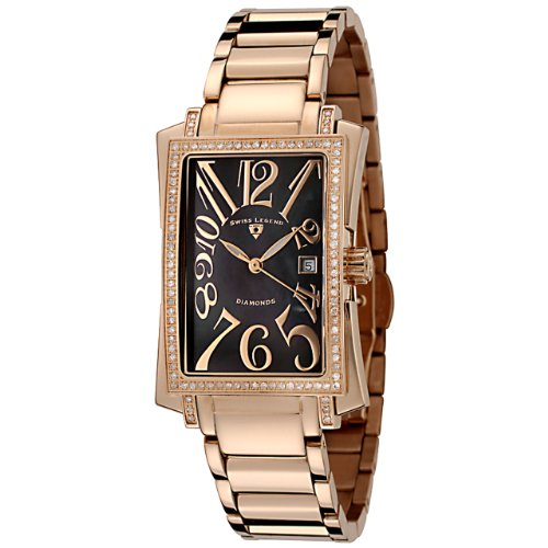 Swiss Legend Women's 10034-RG-11 Bella Diamond Accented Rose Gold-Tone Watch