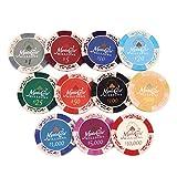 Eco Ride World ポーカー カジノ チップマーカー 11枚セット SO_269