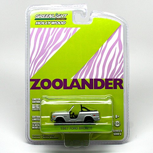 Limited Edition GREEN MACHINE Chase Piece 1967 FORD BRONCO from the movie ZOOLANDER Greenlight Collectibles 1:64 Scale * Hollywood Series 6 * Die Cast Vehicle