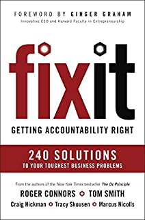 Book Cover: Fix It: Getting Accountability Right