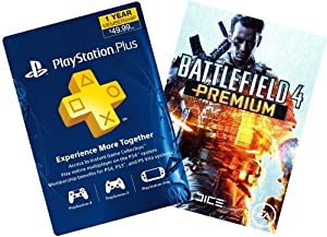 Battlefield 4 Digital Bundle: Battlefield 4 Premium Season Pass + 1-Year PS Plus - PS3 / PS4 [Digital Code]