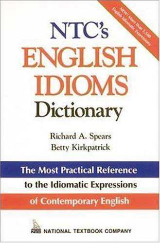 Image for NTC's English Idioms Dictionary