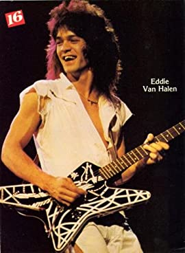 Eddie Van Halen Poster 80'S Photo #01B 11x17 Heavy Stock Print