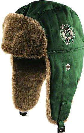 Boston Celtics Green Stevenson Fur-Lined Trapper Hat by Twins
