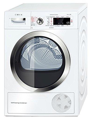 Bosch WTW855R9IT Libera installazione Caricamento frontale 9kg A++ Bianco asciugatrice