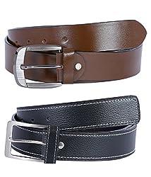 Hardy's Collection Men's Belt (Hardy-166_Black_36)