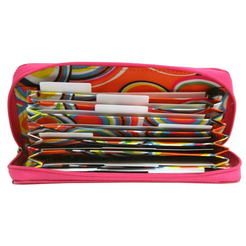 Pink Buxton Groovy Coupie Coupon & Receipt Holder