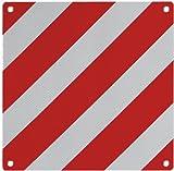 Alu Warntafel 500 x 500 mm, reflektierend, mit Befestigungsösen zur Kennzeichnung von Ladung ~~~~~ schneller Versand innerhalb 24 Stunden ~~~~~
