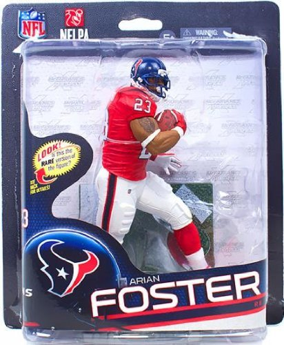 McFarlane NFL 32 Figure Arian Foster Red Jersey Silver Level Variant (Arian Foster Figure compare prices)