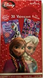 Disney's Frozen Anna, Elsa and Olaf Valentine's Cards with Sticker Sheet