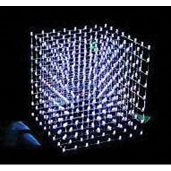 8x8x8 LED Cube Electrical Connector Transistor