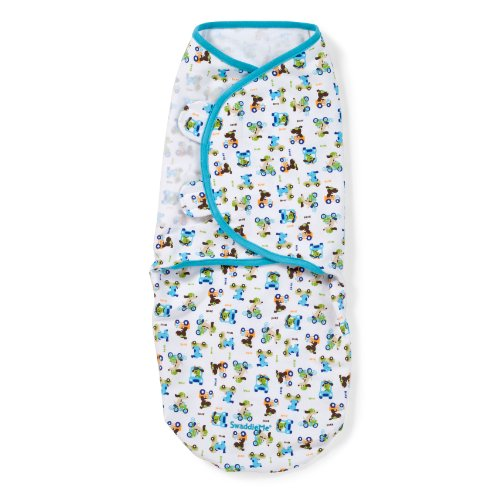 Summer Infant SwaddleMe Adjustable Infant Wrap, Dog in Car, Boy, Large (Discontinued by Manufacturer) - 1