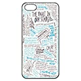 img - for The Fault in Our Stars Okay Hard Back Shell Case Cover Skin for Iphone 5 Cases - Black/white/clear book / textbook / text book