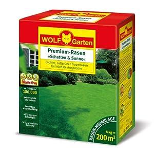 WOLF-Garten 3820050 Premium-Rasen »Schatten & Sonne«LP 200