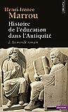 Histoire de l'éducation dans l'Antiquité, tome 2