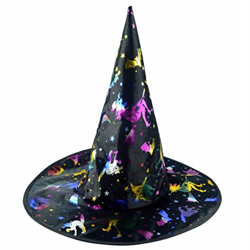 [Halloween,Baomabao Womens Witch Hat For Halloween Costume Accessory] (Board Game Halloween Costumes Diy)