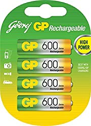 Godrej 600 NiMH AA GP Rechargeable Battery