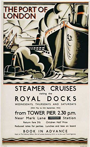 Das Museum Outlet-Art Postkarte-Dampfgarer törns (1934)