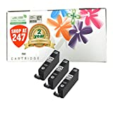 Shop At 247 Compatible Ink Cartridge Replacement for Canon CLI-226 (3 Gray, 3-Pack)