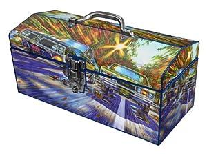 Sainty Art Works 24-052 Four-Barrel Four Speeds with Dual Exhaust Art Deco Tool Box