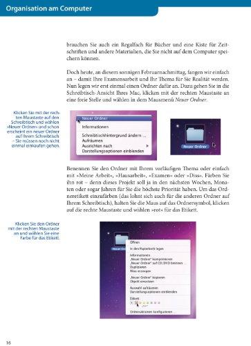 Wissenschaftliches Arbeiten am Mac