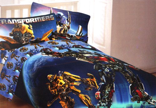 Transformers Convoy Bumblebee Twin-Single Bedding front-634189