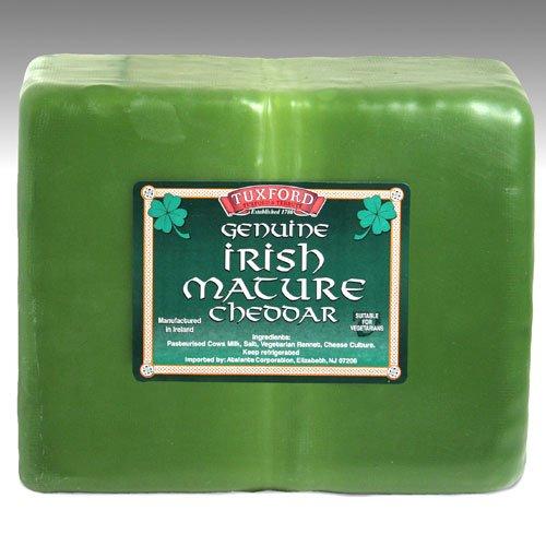 igourmet Irish Green Wax Mature Cheddar (7.5 ounce) (Cheddar Cheese Wax compare prices)