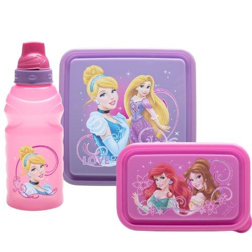 Zak Designs 3-Piece Princess Chillpak Lunch Serveware Set