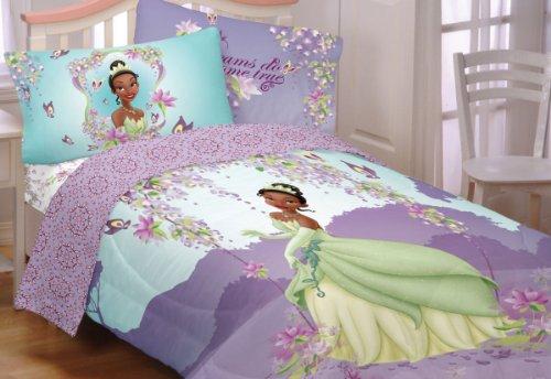 3Pc Disney Princess Frog Sunset Dreams Twin Bed Sheet Set front-1020722