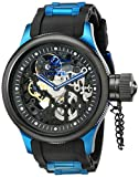 Invicta Russian Diver 17271 52mm Ion Plated Stainless Steel Case Black Polyurethane flame fusion Men's Watch