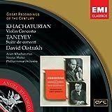 Khatchaturian : Concerto pour violon - Taneyev : Suite de concert