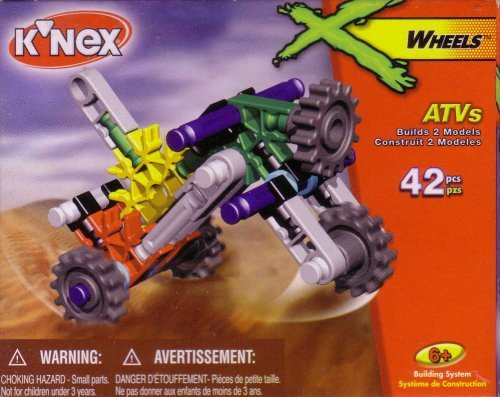 K'NEX X-Wheels: ATVs (Style# 10234)