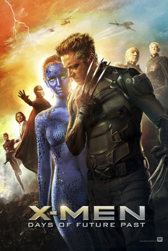 映画 X-MEN フューチャー&パスト ポスター 2 約90x60cm X-Men: Days of Future Past ウルヴァリン  【並行輸入品】