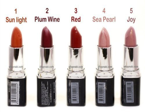 36pcs-Lipstick-Nabi-Round-Lipsticks-Wholesale-Lot-