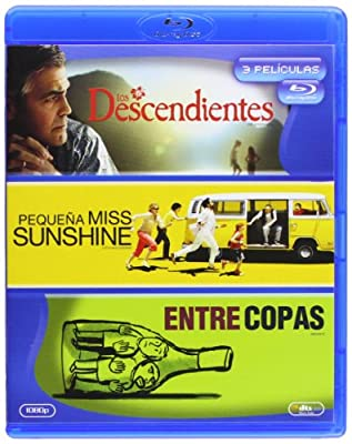 Pack: Los Descendientes + Pequeña Miss Sunshine + Entre Copas [Blu-Ray] (2013