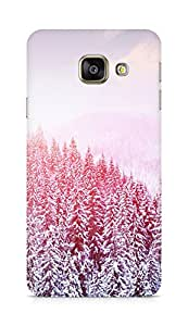 Amez designer printed 3d premium high quality back case cover for Samsung Galaxy A3 (2016 EDITION) (Girly Purple)