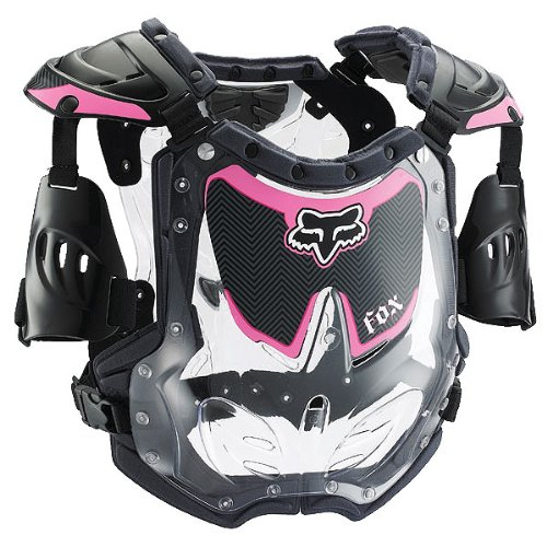 Fox Racing  R3 Women's Roost Deflector MotoX/Off-Road/Dirt Bike Motorcycle Body Armor - Black/Pink / Medium/Large