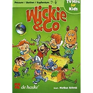 Wickie & Co - Posaune/Bariton/Euphonium, m. Audio-CD