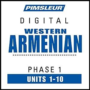 Armenian (West) Phase 1, Units 1-10 Speech