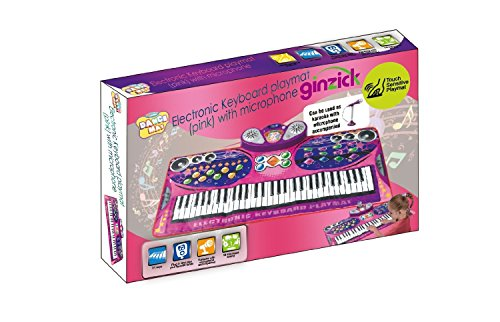 Ginzick-Music-Piano-Electronic-Keyboard-Playmat-with-Microphone-and-Stand